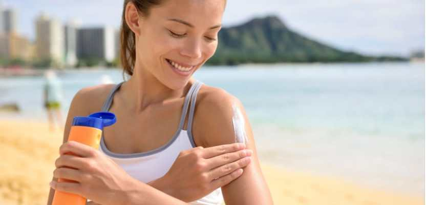 how apply sunscreen