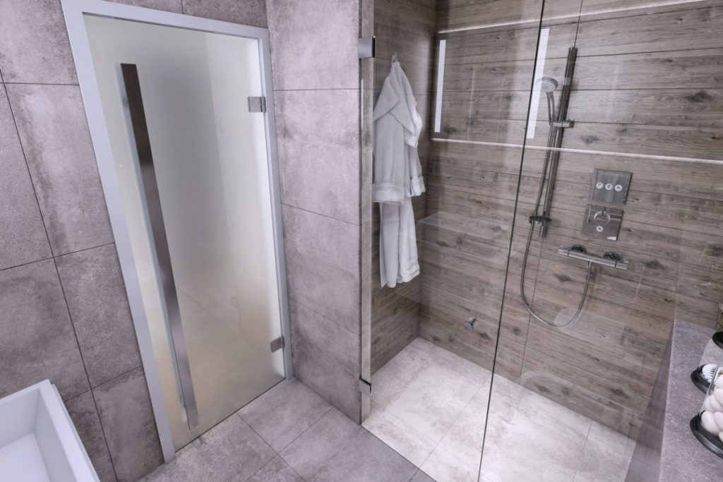 douche a l italienne moderne
