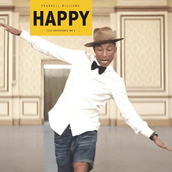 Happy - Pharrell Williams(神偷奶爸2(Despicable Me 2)主題曲)