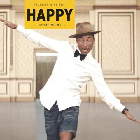 Happy - Pharrell Williams(神偷奶爸2(Despicable Me 2)主題曲)