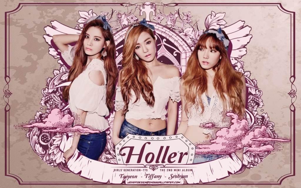 HOLLER - 少女時代 - 太蒂徐(소녀시대-태티서)(GIRLS' GENERATION -TAETISEO)