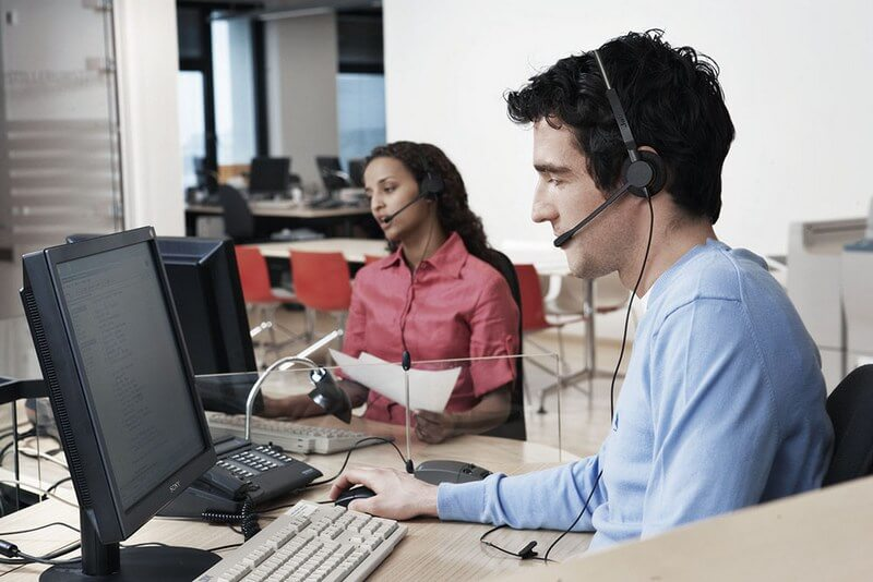 See Jabra's call center headsets