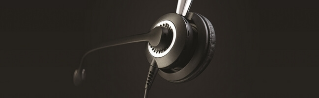 Jabra Biz 2400 II close-up