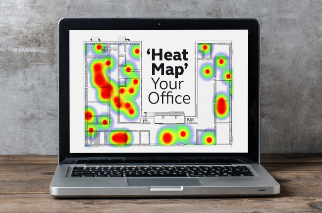 Office heatmap
