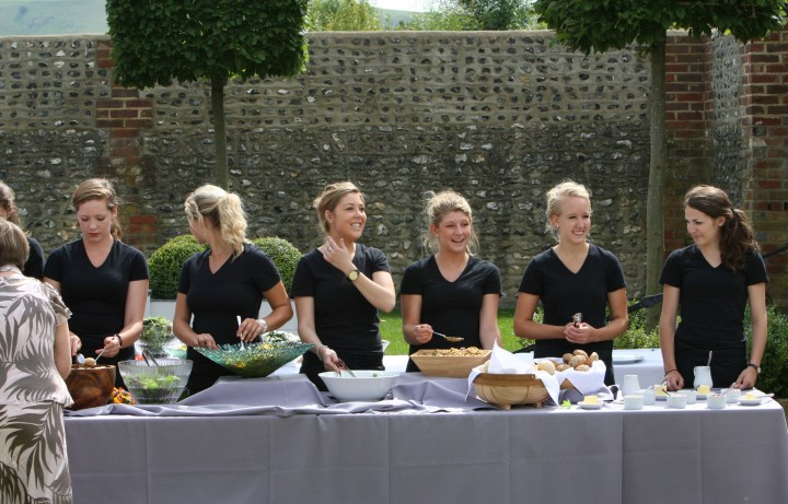 Jacaranda Catering Waitress Team