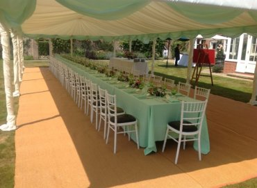 Jacaranda Catering Southdown Marquees Private lunch party_003
