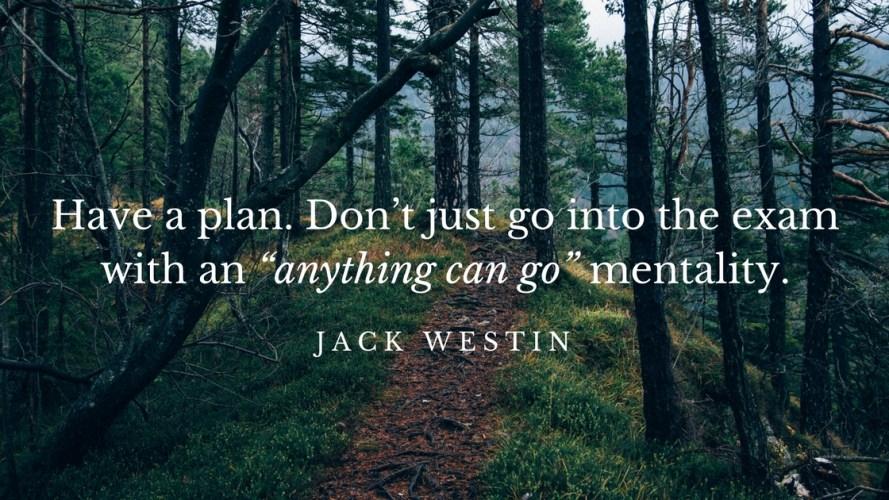 Jack Westin MCAT CARS Strategy Main Point