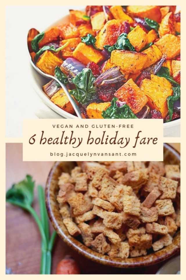 6 healthy and delicious holiday recipes for gluten-free vegans