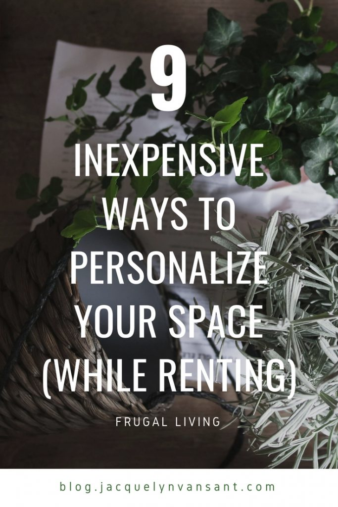 9 inexpensive ways to personalize your space while renting
