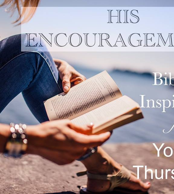 His Encouragement: John 14:27