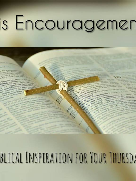 His Encouragement: Encourages us in all our trials