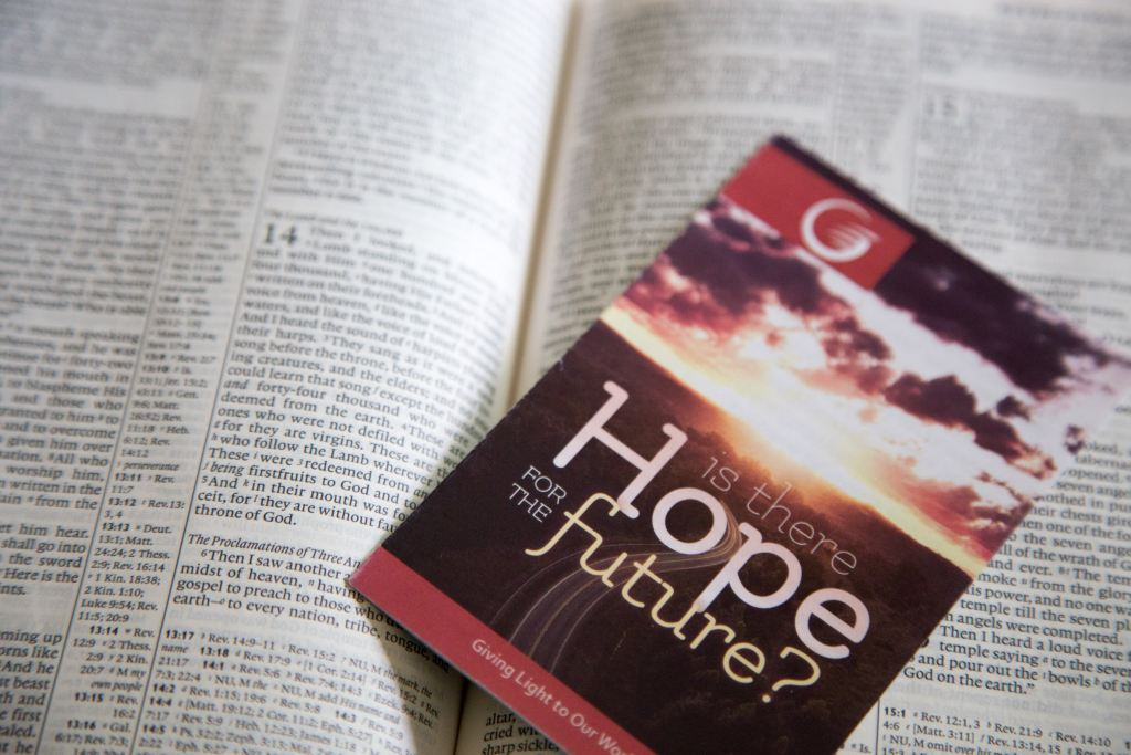 Is there hope for the future? Should a Christian make a New Year's resolution?