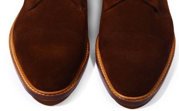 chaussures hommes bout droit simule