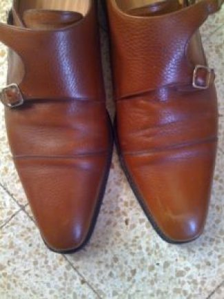 chaussures vérifier la bonne réalisation des coutures