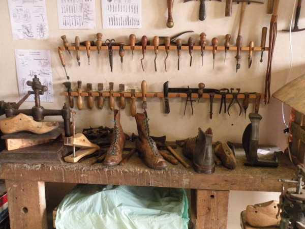 Atelier du cordonnier
