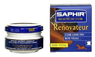 Le rénovateur se présente, comme la crème, dans un pot en verre mais il a une texture plus fluide.