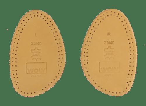 Chaussures trop grandes: les demi semelles