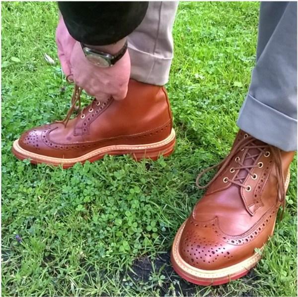 choisir des chaussures pour homme brogue-boots