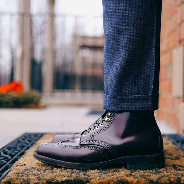 choisir des chaussures pour homme brogue boots