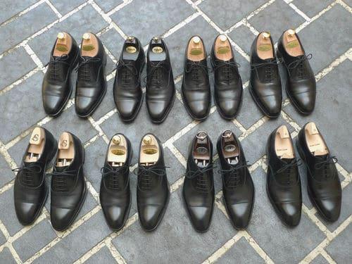 choisir des chaussures pour homme Oxfords noires