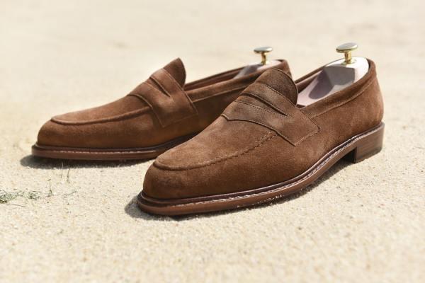 mocassin loafer velours