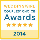 WeddingWire Couples Choice Award 2013