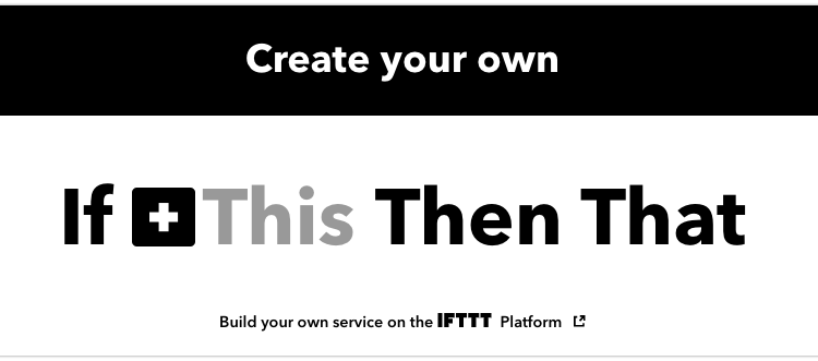 if this ifttt
