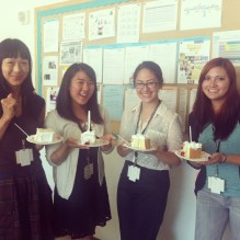 JANM's 2013 interns celebrate the end of a great summer internship!