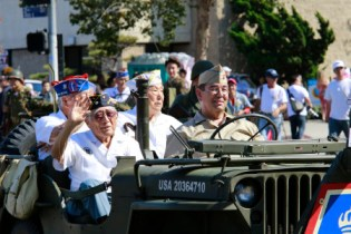 Meet Japanese American WWII veterans at the Go For Broke Monument!