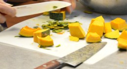 Kabocha is an Asian variety of winter squash, and can be cooked in many different ways.