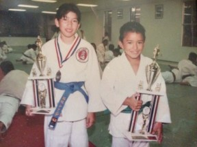 "In Chanda Ishisaka's article, ""Diary of a Mad Hapa Judo Girl"", Ishisaka recounts her experiences as a girl in judo, and her mixed heritage."