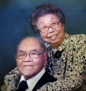 Sue's parents, Jack Yutaka and Clara Sato.