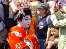 Geisha in Tokyo: Kamuro 禿