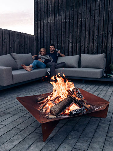 brasero-triple-outdoor-corten-hofats-jardinchic