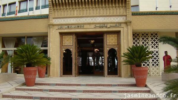 Carnet de voyage marocain : Hôtel Les Mérinides à Fès