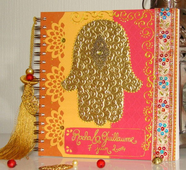 livre d'or oriental