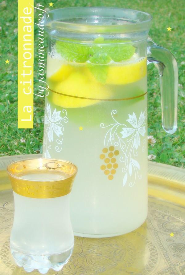 citronnade légère facile