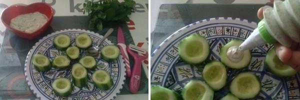 Concombre à l'orientale