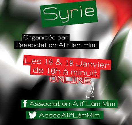 ♥ Ce week-end, des enchères pour la Syrie  ♥