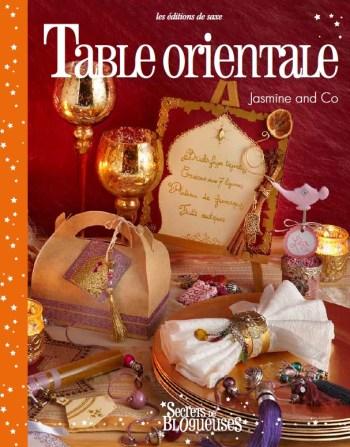 livre table orientale jasmine and co