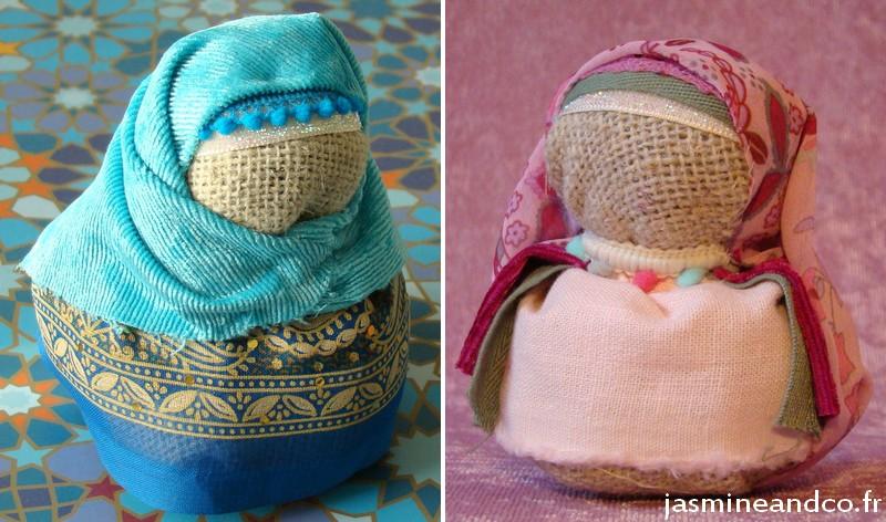 doll hijab diy