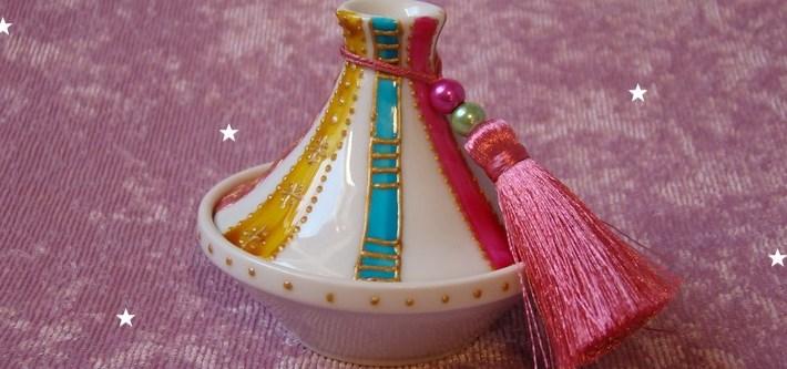 Mini tajine en porcelaine
