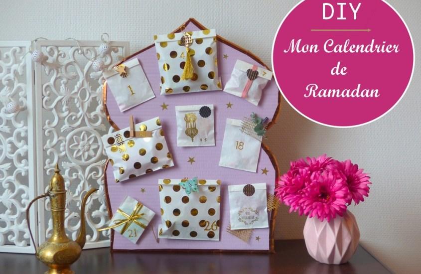 Faire un calendrier de Ramadan
