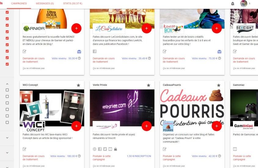 Influence4Brands : Monétiser son blog et ses réseaux sociaux