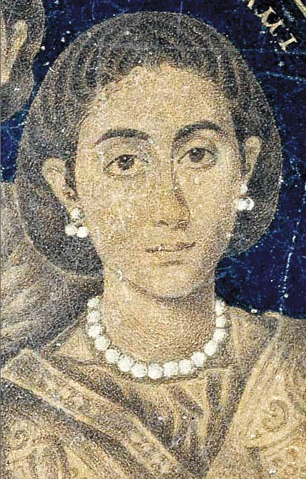 Posible retrato de Galla Placidia, coetánea de Egeria