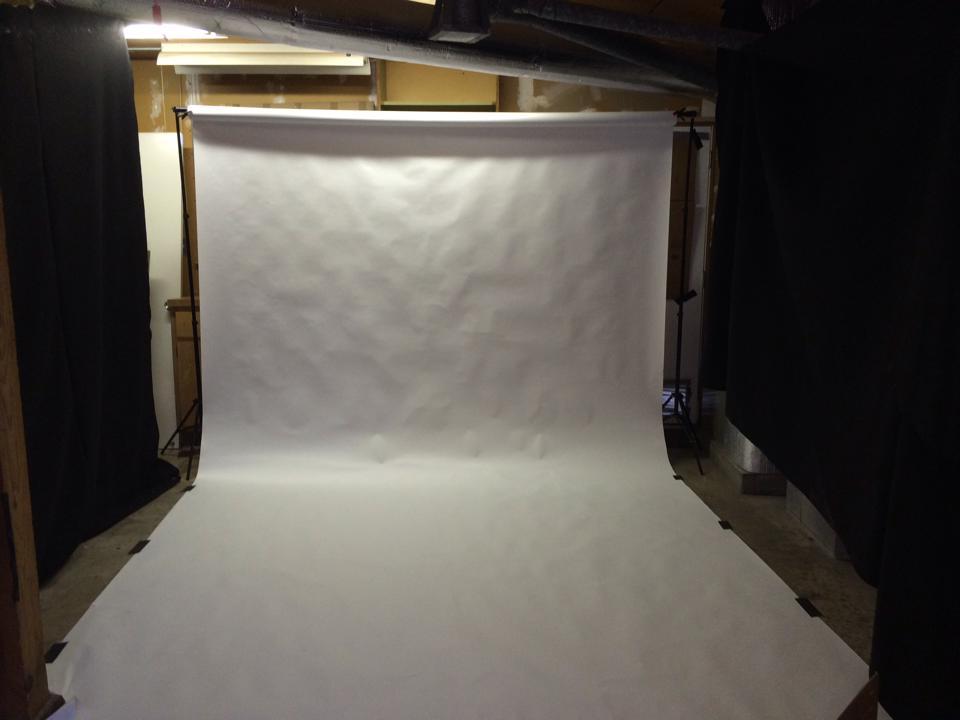 One Light Studio Setup