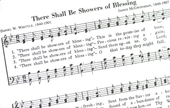 Showers of Blessing Hymnal Page
