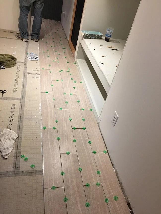 new laundry room floor tile part 1