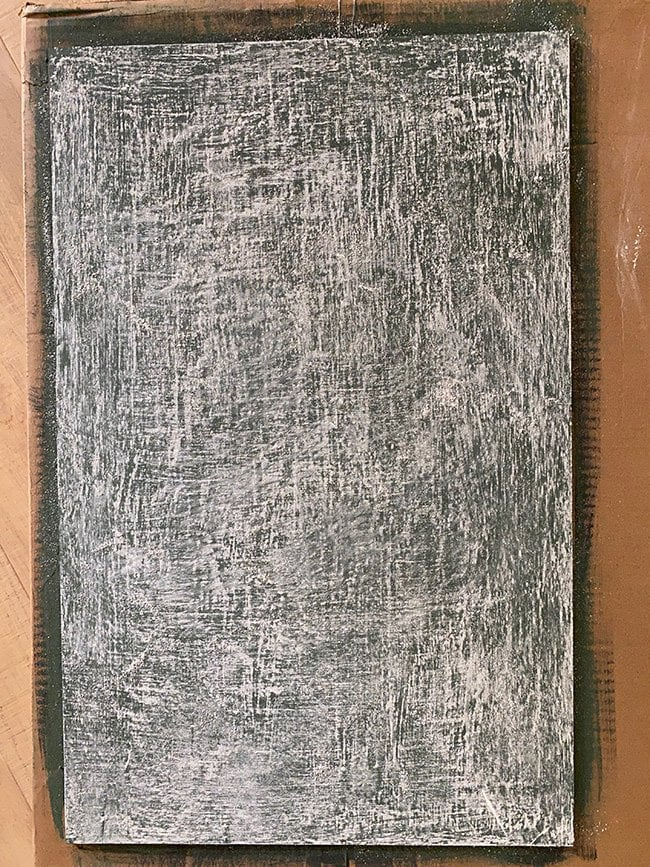 homemade chalkboard paint