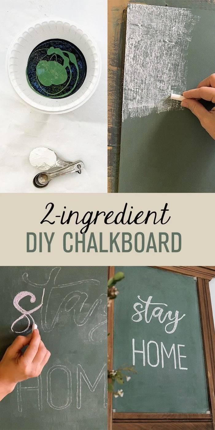 easy diy chalkboard paint